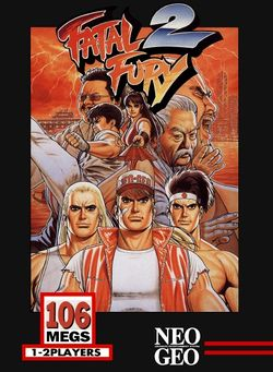 Box artwork for Fatal Fury 2.