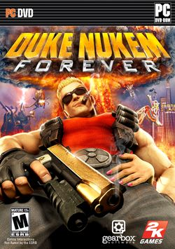 Box artwork for Duke Nukem Forever.
