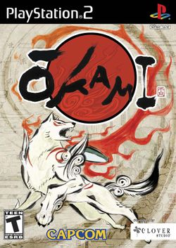 Box artwork for Ōkami.