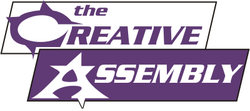 Creative Assembly's company logo.