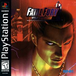 Box artwork for Fatal Fury: Wild Ambition.