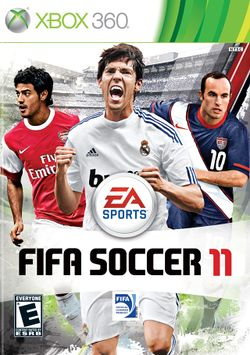 Box artwork for FIFA Soccer 11.