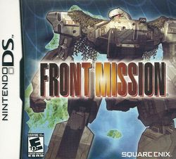 Box artwork for Front Mission.
