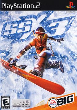 Box artwork for SSX 3.