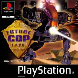 Box artwork for Future Cop: LAPD.