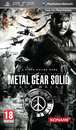Box artwork for Metal Gear Solid: Peace Walker.