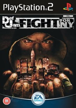 Box artwork for Def Jam: Fight For NY.