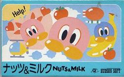 Box artwork for Nuts & Milk.