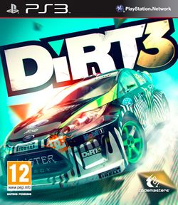 Box artwork for DiRT 3.