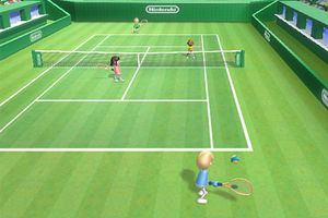 Image result for wii sports tennis