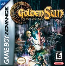 Box artwork for Golden Sun: The Lost Age.