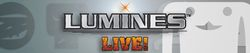 Box artwork for Lumines Live!.