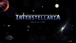 Box artwork for Interstellaria.
