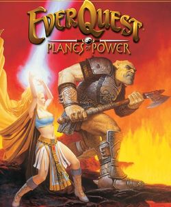 Box artwork for EverQuest: The Planes of Power.