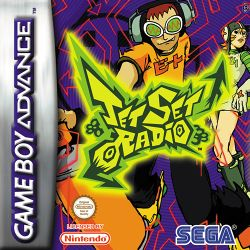 Box artwork for Jet Set Radio.
