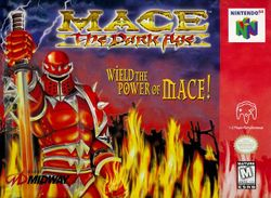 Box artwork for Mace: The Dark Age.