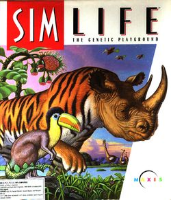 Box artwork for SimLife.