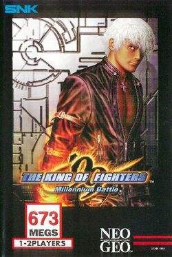 Box artwork for The King of Fighters '99.