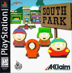 Box artwork for South Park.