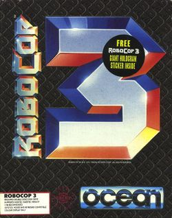 Box artwork for RoboCop 3.