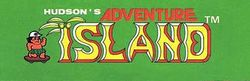The logo for Adventure Island.