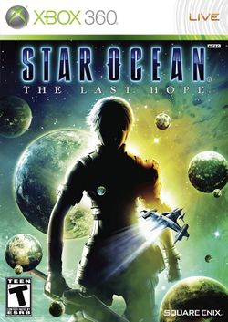 Box artwork for Star Ocean: The Last Hope.