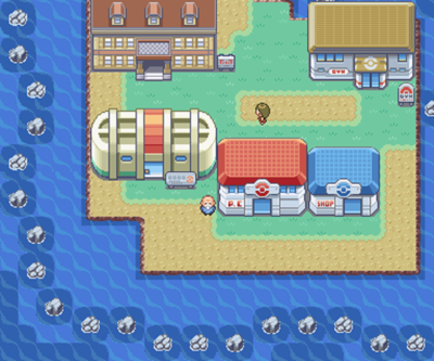 Pokemon Fire Red Cinnabar Island Mansion Map