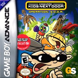 Box artwork for Codename: Kids Next Door: Operation: S.O.D.A..