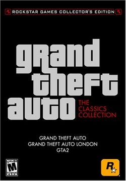 Box artwork for Grand Theft Auto: The Classics Collection.