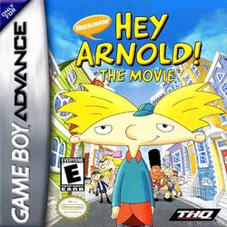 Box artwork for Hey Arnold: The Movie.