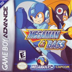 Box artwork for Mega Man & Bass.