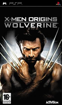 Box artwork for X-Men Origins: Wolverine.