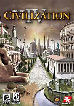 Box artwork for Civilization IV.