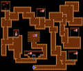 Final Fantasy 1 map cave Earth F3.png