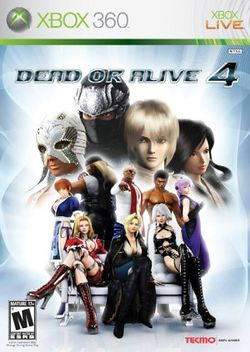 Box artwork for Dead or Alive 4.