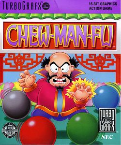 Box artwork for Chew Man Fu.
