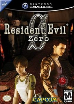 Box artwork for Resident Evil Zero.