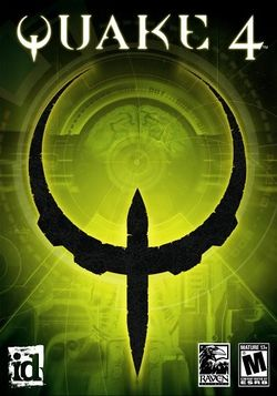 Box artwork for Quake 4.