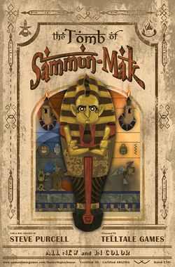 Box artwork for Sam & Max Episode 302: The Tomb of Sammun-Mak.