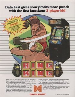 Box artwork for Ring King.