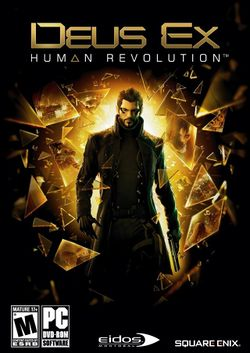 Box artwork for Deus Ex: Human Revolution.