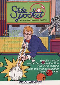 Box artwork for Side Pocket.
