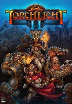 Box artwork for Torchlight II.