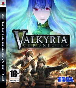 Box artwork for Valkyria Chronicles.