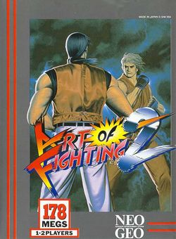 Box artwork for Art of Fighting 2.