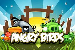 Box artwork for Angry Birds.