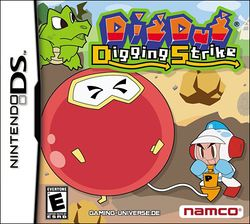 Box artwork for Dig Dug: Digging Strike.