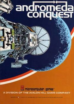 Box artwork for Andromeda Conquest.