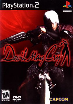 Box artwork for Devil May Cry.