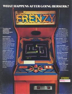 Box artwork for Frenzy.